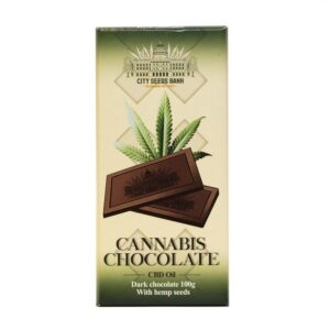 Cannabis Dark Chocolate Bars