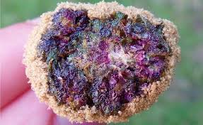 Purple Moon Rock